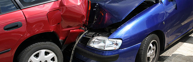 Banner for Motor Vehicle Accidents